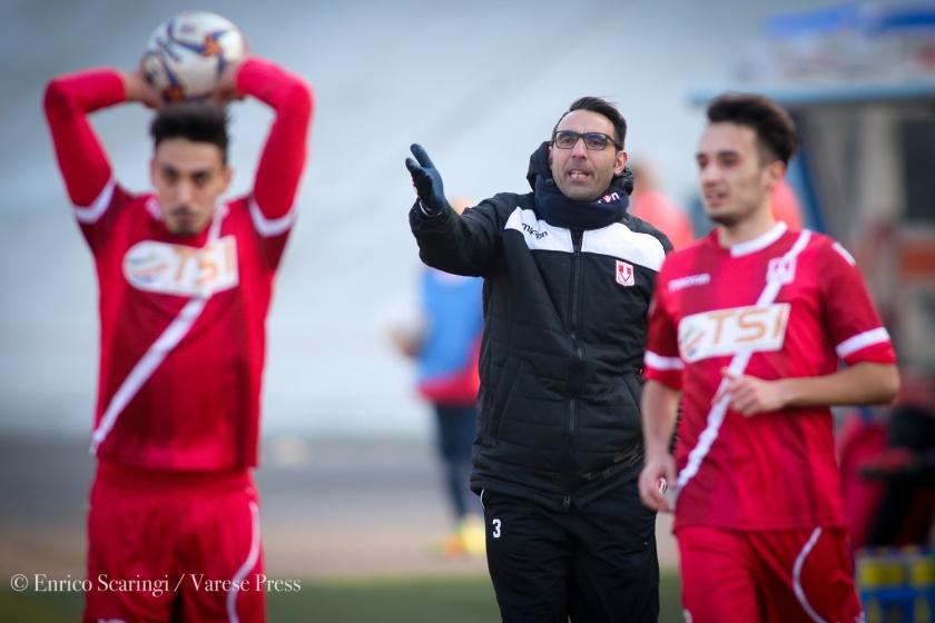 calcio serie D campionato 2017 2018Varese Vs oltrepovoghera