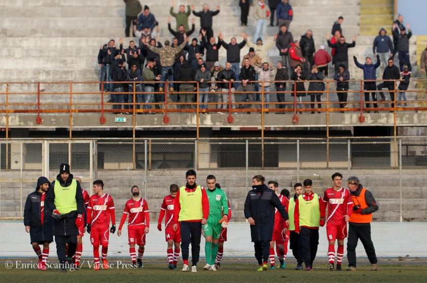 calcio serie D campionato 2017 2018 Varese Vs oltrepovoghera