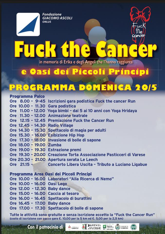 fuck the cancer domenica