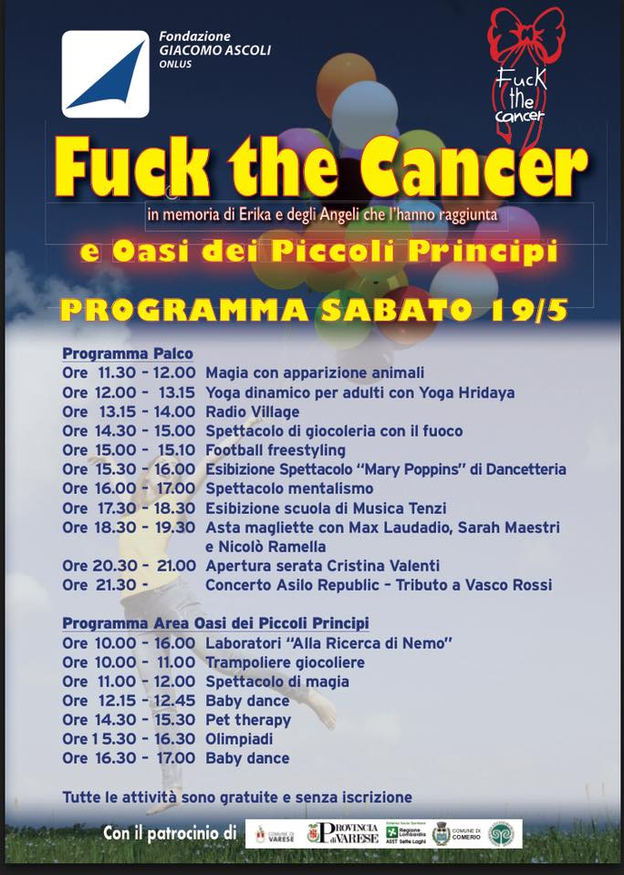 fuck the cancer sabato